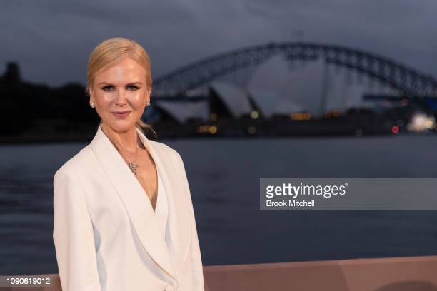 Nicole Kidman attends the Australian premiere of Destroyer on January 28 2019 in Sydney Australia