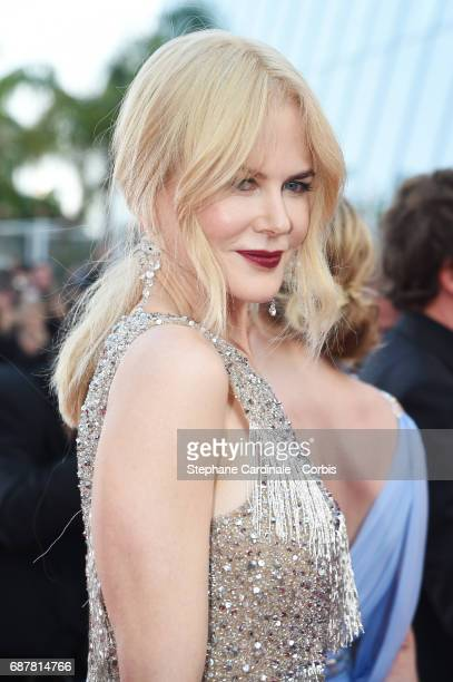 Nicole Kidman attends 'The Beguiled' premiere during the 70th annual Cannes Film Festival at Palais des Festivals on May 24 2017 in Cannes France