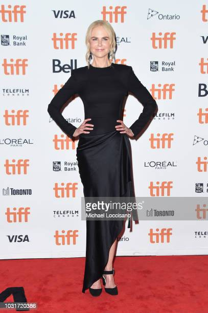 Nicole Kidman attends the Boy Erased premiere during 2018 Toronto International Film Festival at Princess of Wales Theatre on September 11 2018 in...