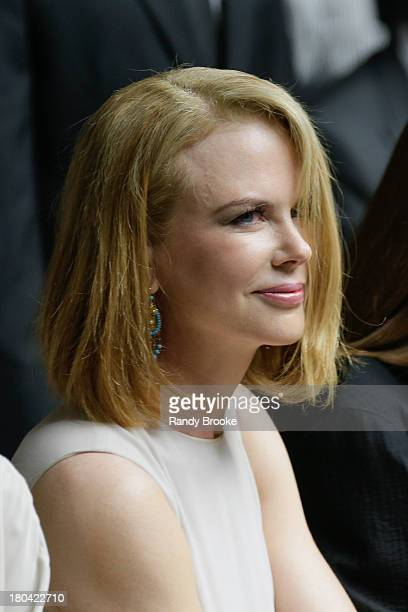 Nicole Kidman attends the Calvin Klein Collection show during Spring 2014 MercedesBenz Fashion Week on September 12 2013 in New York City