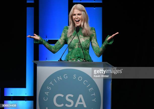 Nicole Kidman attends the Casting Society Of America's 33rd Annual Artios Awards at The Beverly Hilton Hotel on January 18 2018 in Beverly Hills...