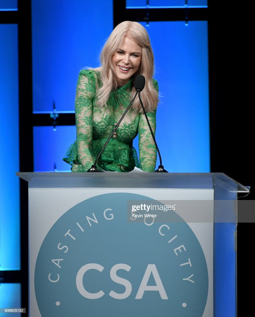 Nicole Kidman attends the Casting Society Of America's 33rd Annual Artios Awards at The Beverly Hilton Hotel on January 18, 2018 in Beverly Hills, California.