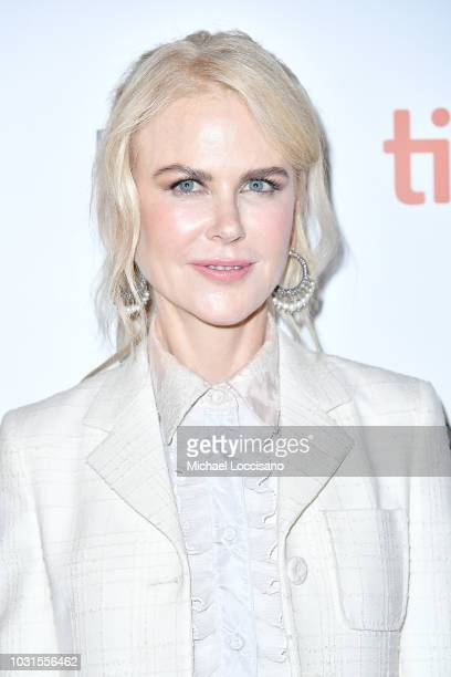 Nicole Kidman attends the 'Destroyer' premiere during 2018 Toronto International Film Festival at Winter Garden Theatre on September 10 2018 in...