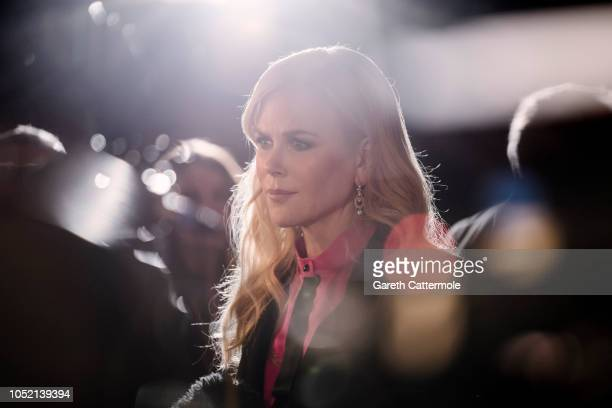 Nicole Kidman attends the European Premiere Destroyer at the 62nd BFI London Film Festival on October 14 2018 in London England