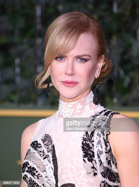 Nicole Kidman attends the Evening Standard Theatre Awards at The Old Vic Theatre on November 22 2015 in London England