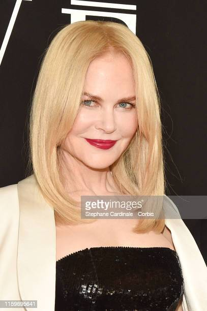 Nicole Kidman attends the Giorgio Armani Prive Haute Couture Fall/Winter 2019 2020 show as part of Paris Fashion Week on July 02 2019 in Paris France