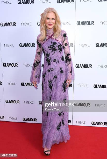 Nicole Kidman attends the Glamour Women of The Year Awards 2017 at Berkeley Square Gardens on June 6 2017 in London England