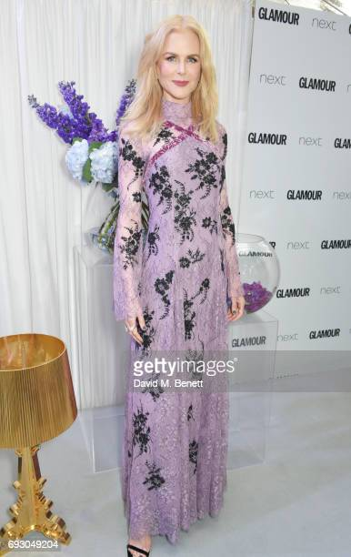 Nicole Kidman attends the Glamour Women of The Year Awards 2017 in Berkeley Square Gardens on June 6, 2017 in London, England.