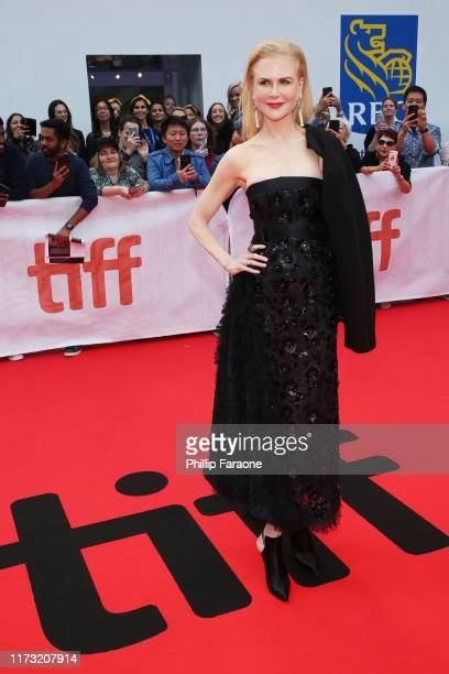 Nicole Kidman attends The Goldfinch premiere during the 2019 Toronto International Film Festival at Roy Thomson Hall on September 08 2019 in Toronto...
