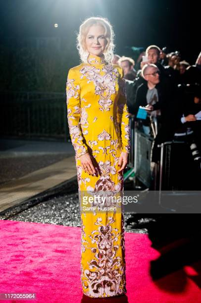 Nicole Kidman attends the GQ Men Of The Year Awards 2019 at Tate Modern on September 03, 2019 in London, England.