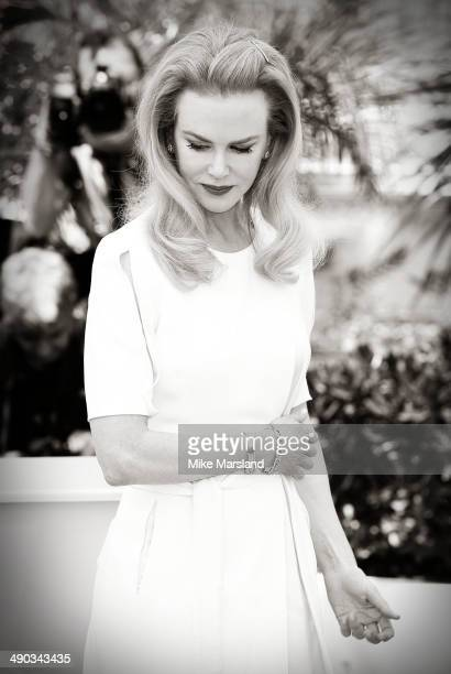 Nicole Kidman attends the 'Grace of Monaco' photocall at the 67th Annual Cannes Film Festival on May 14 2014 in Cannes France