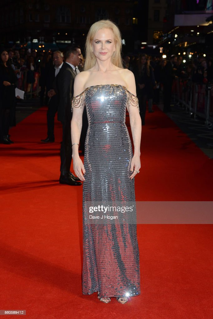 Nicole Kidman attends the Headline Gala Screening & UK Premiere of 'Killing of a Sacred Deer' during the 61st BFI London Film Festival on October 12, 2017 in London, England.