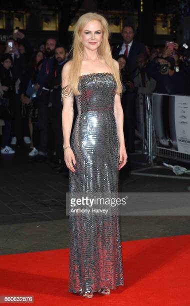 Nicole Kidman attends the Headline Gala Screening UK Premiere of Killing of a Sacred Deer during the 61st BFI London Film Festival on October 12 2017...