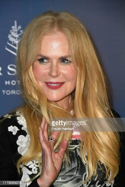 Nicole Kidman attends the HFPA/THR TIFF PARTY during the 2019 Toronto International Film Festival at Four Seasons Hotel on September 07 2019 in...