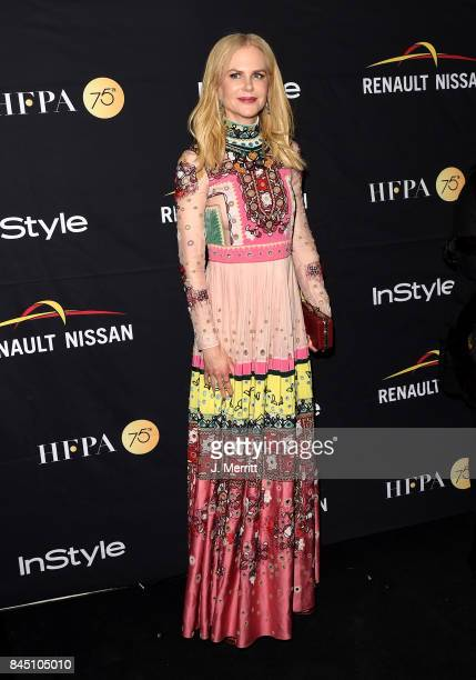 Nicole Kidman attends The Hollywood Foreign Press Association and InStyle's annual celebrations of the 2017 Toronto International Film Festival at...