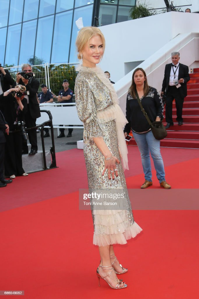 Nicole Kidman attends the 'How To Talk To Girls At Parties' screening during the 70th annual Cannes Film Festival at Palais des Festivals on May 21, 2017 in Cannes, France.