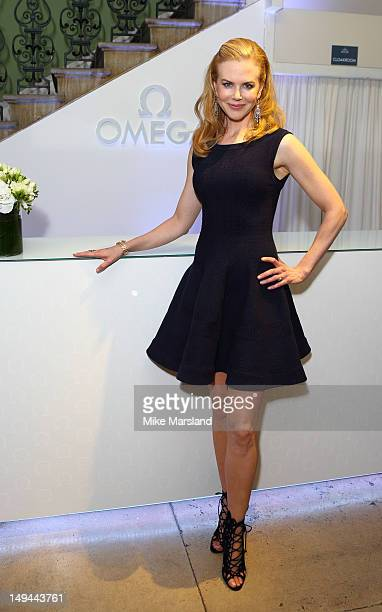 Nicole Kidman attends the launch of OMEGA House on July 28 2012 in London England