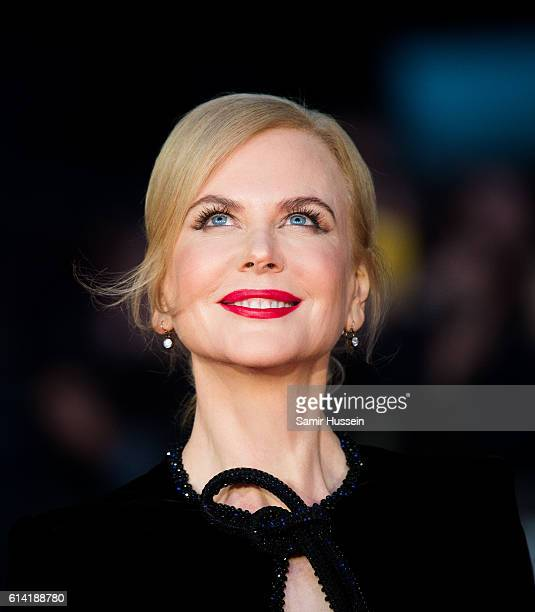 Nicole Kidman attends the 'Lion' American Express Gala screening during the 60th BFI London Film Festival at Odeon Leicester Square on October 12...
