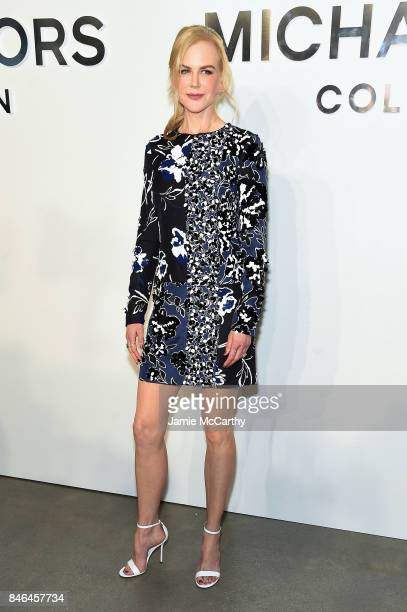 Nicole Kidman attends the Michael Kors Collection Spring 2018 Runway Show at Spring Studios on September 13 2017 in New York City