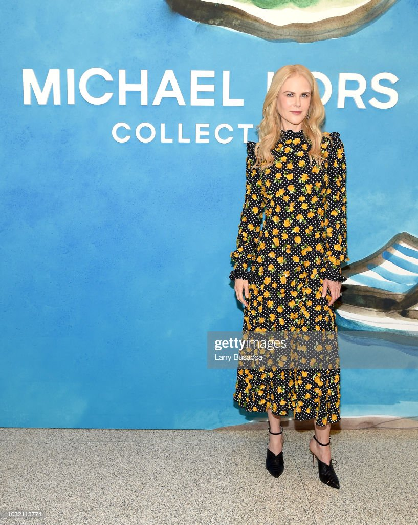 Nicole Kidman attends the Michael Kors Collection Spring 2019 Runway Show at Pier 17 on September 12, 2018 in New York City.
