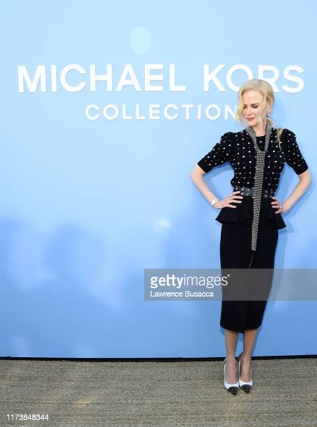 Nicole Kidman attends the Michael Kors Collection Spring 2020 Runway Show on September 11 2019 in the Brooklyn borough of New York City