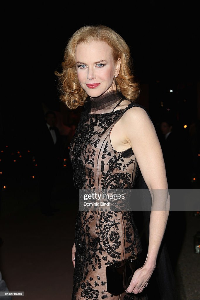 Nicole Kidman attends the Omega Gala 'La Nuit Enchantee' at Gartenpalais Liechtenstein on March 23, 2013 in Vienna, Austria.