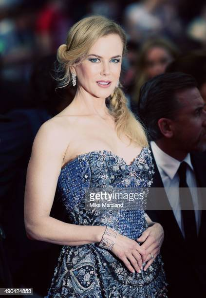 Nicole Kidman attends the opening ceremony and Grace of Monaco premiere at the 67th Annual Cannes Film Festival on May 14 2014 in Cannes France
