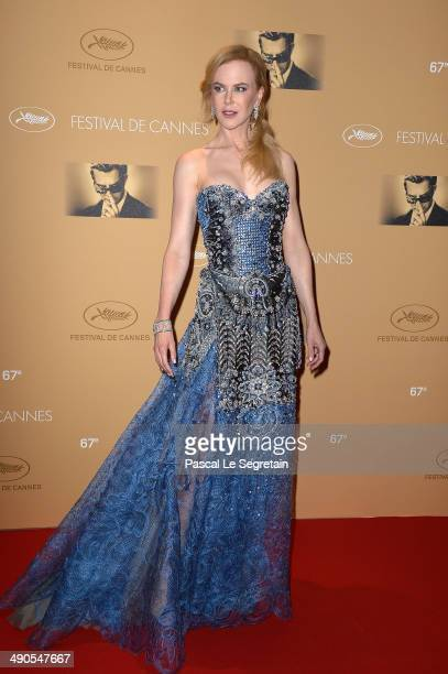 Nicole Kidman attends the Opening Ceremony Dinner Arrivals at the 67th Annual Cannes Film Festival on May 14 2014 in Cannes France