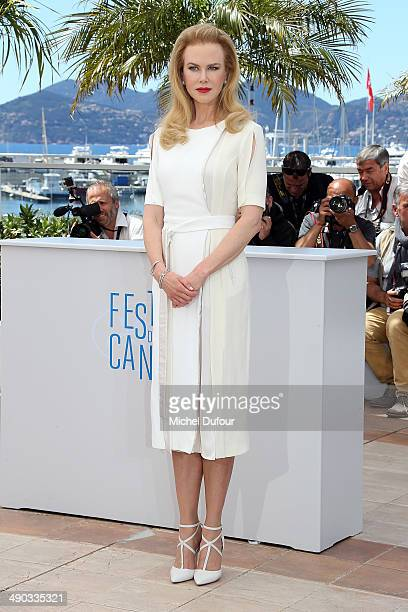 """Nicole Kidman attends the photocall for """"Grace of Monaco"""" at the 67th Annual Cannes Film Festival on May 14, 2014 in Cannes, France."""