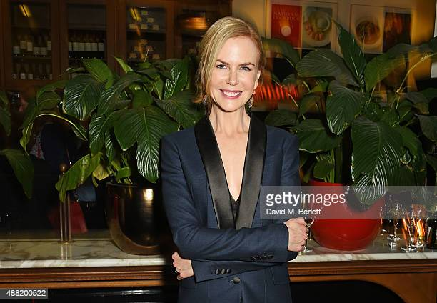 Nicole Kidman attends the 'Photograph 51' press night after party at the The National Cafe on September 14 2015 in London England