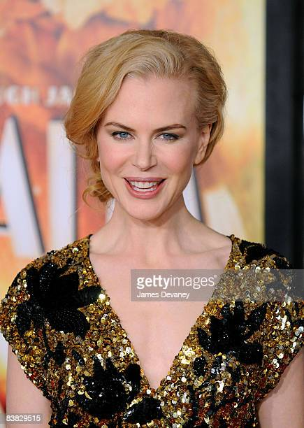 Nicole Kidman attends the premiere of Australia at the Ziegfeld Theater on November 24 2008 in New York City