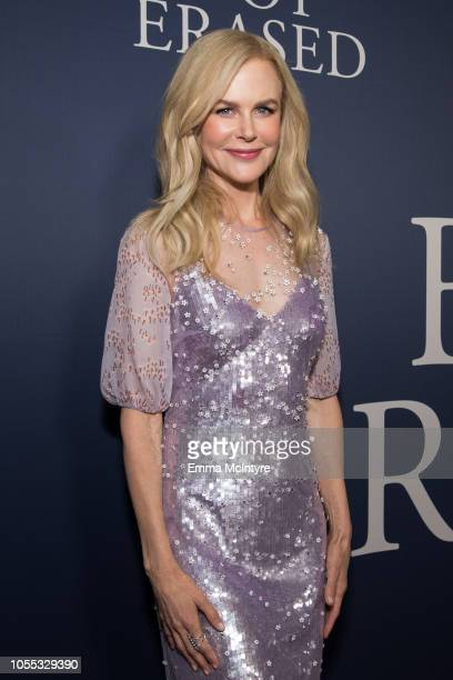 Nicole Kidman attends the premiere of Focus Features Boy Erased at Directors Guild Of America on October 29 2018 in Los Angeles California