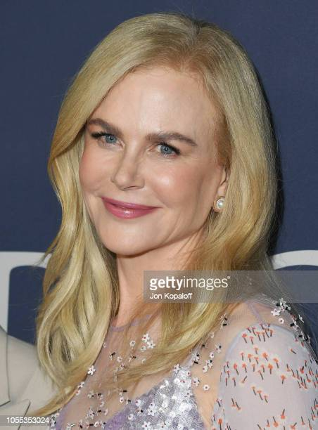 Nicole Kidman attends the premiere of Focus Features' Boy Erased at Directors Guild Of America on October 29 2018 in Los Angeles California