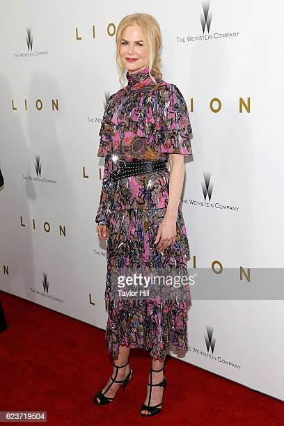 Nicole Kidman attends the premiere of 'Lion' at Museum of Modern Art on November 16 2016 in New York City