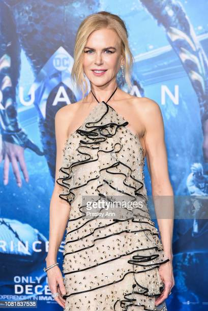 """Nicole Kidman attends the premiere of Warner Bros. Pictures' """"Aquaman"""" at TCL Chinese Theatre on December 12, 2018 in Hollywood, California."""