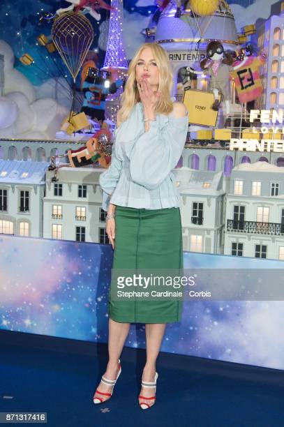 Nicole Kidman attends the 'Printemps' Christmas Decorations Inauguration at Le Printemps on November 7 2017 in Paris France