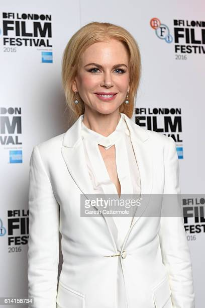 Nicole Kidman attends the screen talk Nicole Kidman Dev Patel during the 60th BFI London Film Festival at Picturehouse Central on October 12 2016 in...