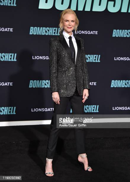"""Nicole Kidman attends the special screening of Liongate's """"Bombshell"""" at Regency Village Theatre on December 10, 2019 in Westwood, California."""