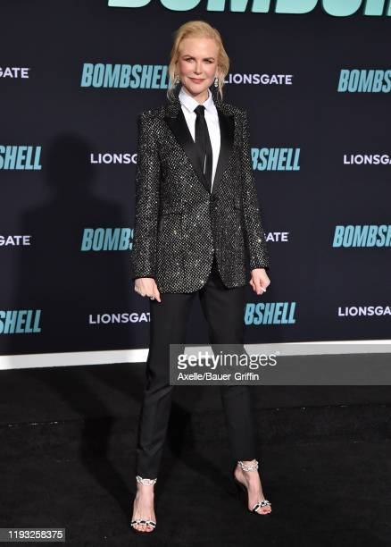 "Nicole Kidman attends the special screening of Liongate's ""Bombshell"" at Regency Village Theatre on December 10, 2019 in Westwood, California."