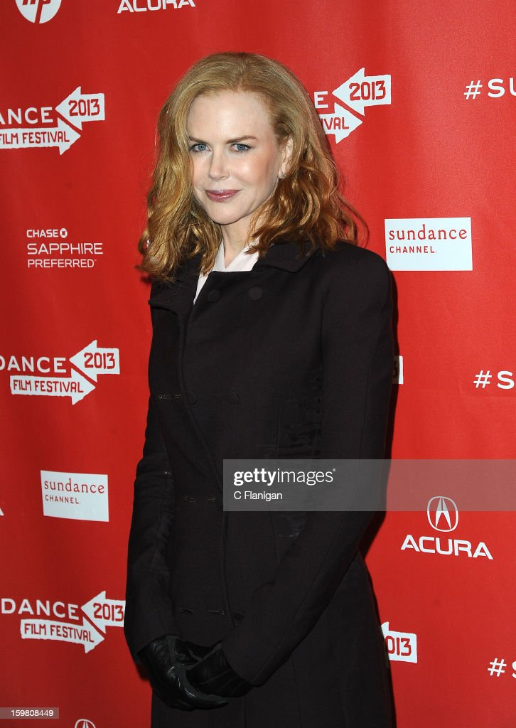 Nicole Kidman attends the 'Stoker' Premiere at Eccles Center Theatre on January 20, 2013 in Park City, Utah.