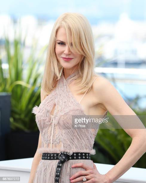 """Nicole Kidman attends the """"The Beguiled"""" photocall during the 70th annual Cannes Film Festival at Palais des Festivals on May 24, 2017 in Cannes,..."""