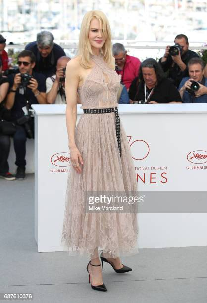 Nicole Kidman attends the The Beguiled photocall during the 70th annual Cannes Film Festival at Palais des Festivals on May 24 2017 in Cannes France