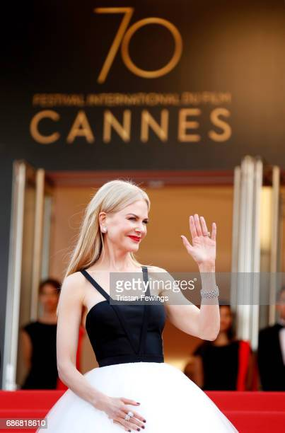 "Nicole Kidman attends the ""The Killing Of A Sacred Deer"" screening during the 70th annual Cannes Film Festival at Palais des Festivals on May 22,..."