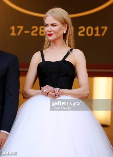 Nicole Kidman attends the The Killing Of A Sacred Deer screening during the 70th annual Cannes Film Festival at Palais des Festivals on May 22 2017...