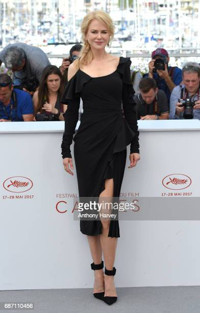 Nicole Kidman attends the 'Top Of The Lake China Girl' Photocall during the 70th annual Cannes Film Festival at Palais des Festivals on May 23 2017...