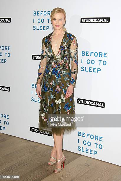 Nicole Kidman attends the UK Gala screening of 'Before I Go To Sleep' at Ham Yard Hotel on September 4 2014 in London England