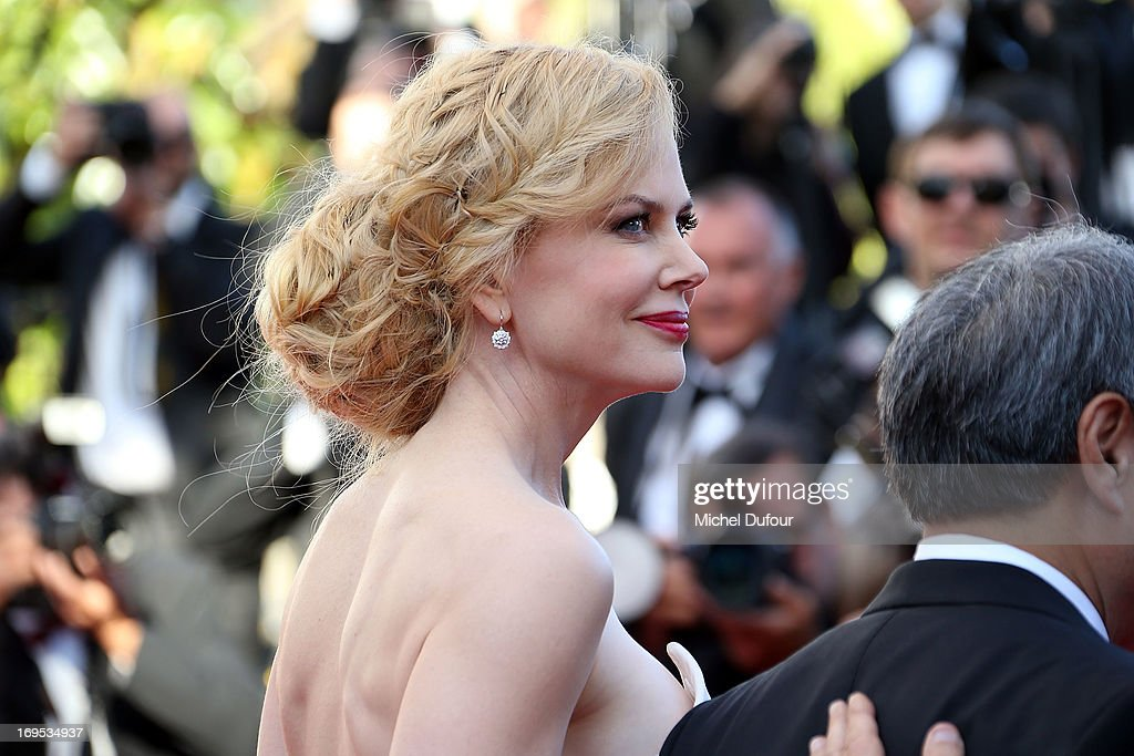 Nicole Kidman attends the 'Zulu' Premiere and Closing Ceremony during the 66th Annual Cannes Film Festival at the Palais des Festival on May 26, 2013 in Cannes, France.