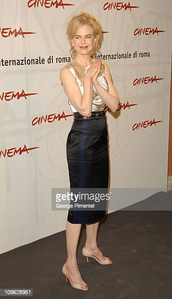 """Nicole Kidman during 1st Annual Rome Film Festival - """"Fur: An Imaginary Portrait of Diane Arbus"""" Photocall at Auditorium in Rome, Italy."""