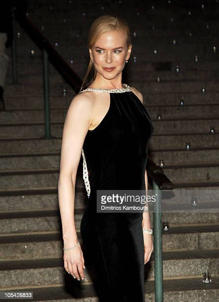 Nicole Kidman during 4th Annual Tribeca Film Festival Vanity Fair Party at The State Supreme Courthouse in New York City New York United States