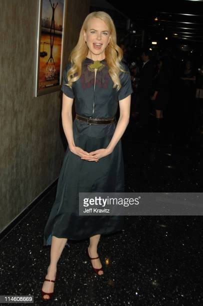 Nicole Kidman during God Grew Tired of Us Los Angeles Premiere Red Carpet and Inside at Pacific Design Center in Los Angeles California United States